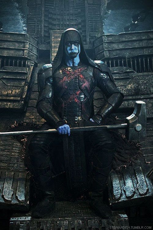 Day 3: Lee Pace as Ronan the Accuser. Ladies, this was a HARD one to choose because I've only seen Lee as Thranduil and Ronan and I LOVE him in both roles. However, I'm going to have to go with Ronan as my least favorite... Because of all the make-up hiding Lee's gorgeous face from us. :P