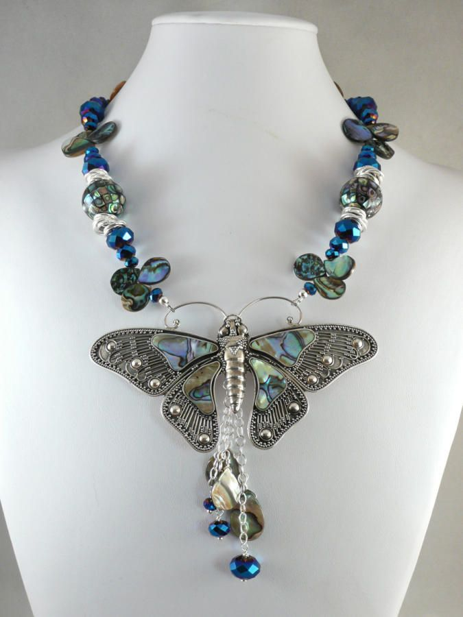 Abalone Butterfly by Madalynne Homme