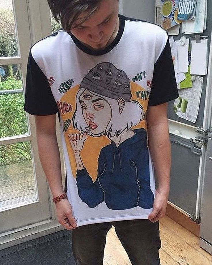 """Y A X L E Y auf Instagram: """"My m8 just bought one of my redbubble shirts and its…"""
