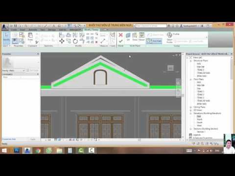 Revit Tutorial | Revit Architecture 2014 | Tutorial For Beginners | Hous...  Revit ArchitectureHouse DesignHome ...
