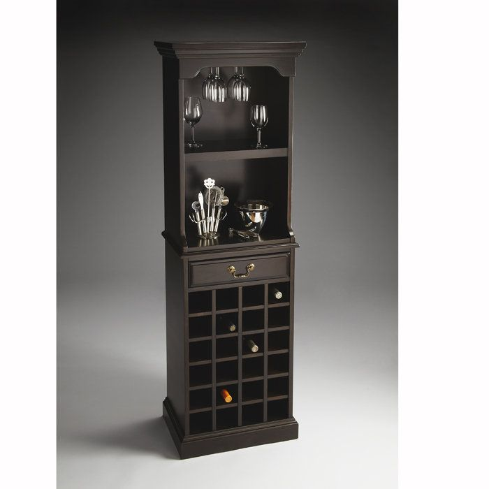 wine rack liquor cabinet