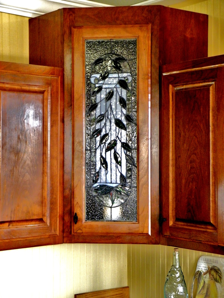 stained glass kitchen cabinet inserts 23 best stained glass cabinet doors images on 8222