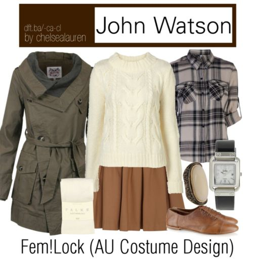 John Watson| (BBC)Sherlock- AU Costume Design -Click here!