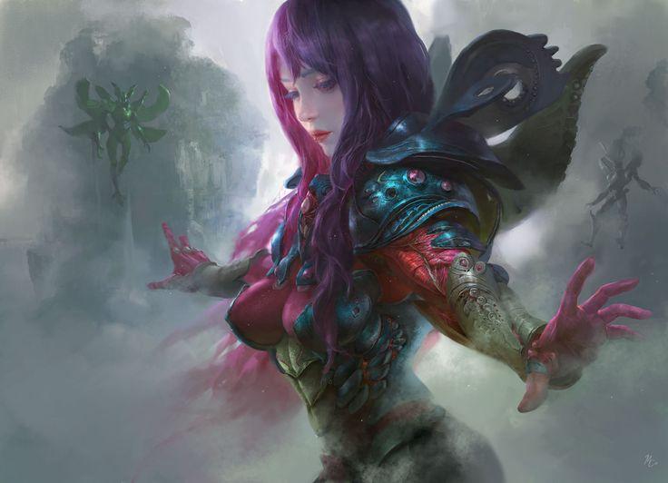 Flying - Fantasy Character Design