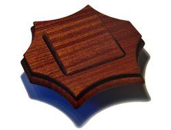 Выключатель из дерева (Красное дерево) switchers, mahagony, wood
