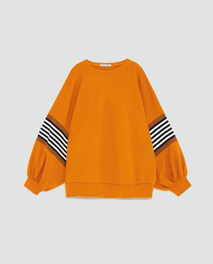 Image 8 of STRIPED SWEATSHIRT from Zara