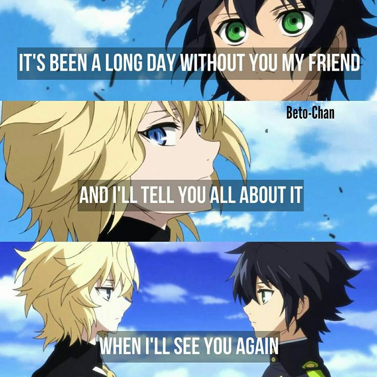 Anime : Seraph of the end