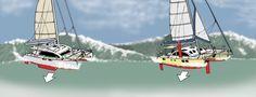 Heavy Weather Strategies When Sailing a Catamaran
