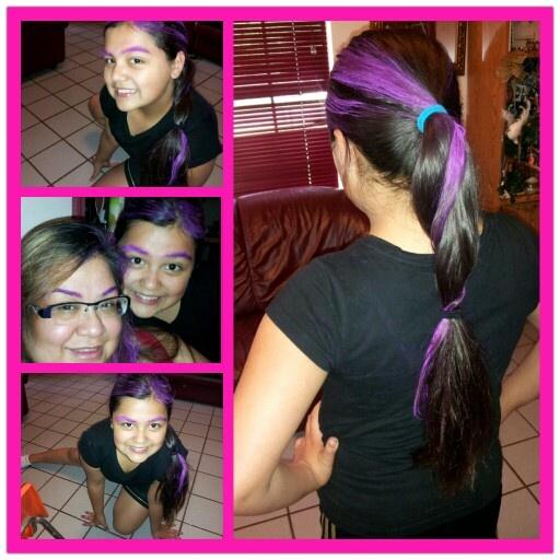 Splat Hair Color Purple Swag Washout Dye Free Shipping At Nail