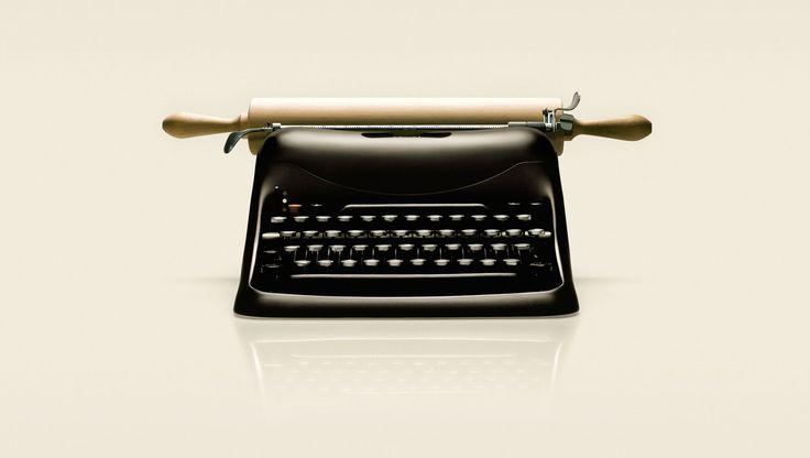 Typewriter by Fulvio Bonavia #typewriter #photomanipulation #photoshop