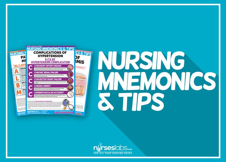 Nursing Mnemonics and Tips - Nurseslabs