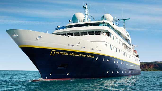 National Geographic Orion Adventure Cruise, Orion Expeditions