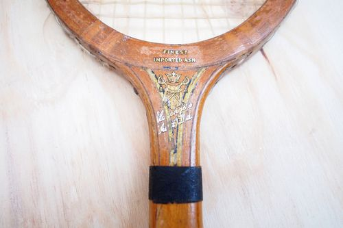 Vintage Wooden Tennis Racket Set for Hire. The Collection – Wedding and Event Vintage Prop Hire, Mornington Peninsula. See the thecollectionvintageprops.com.au for more details and prices. Contact kristy@ thecollectionvintageprops.com.au to book.