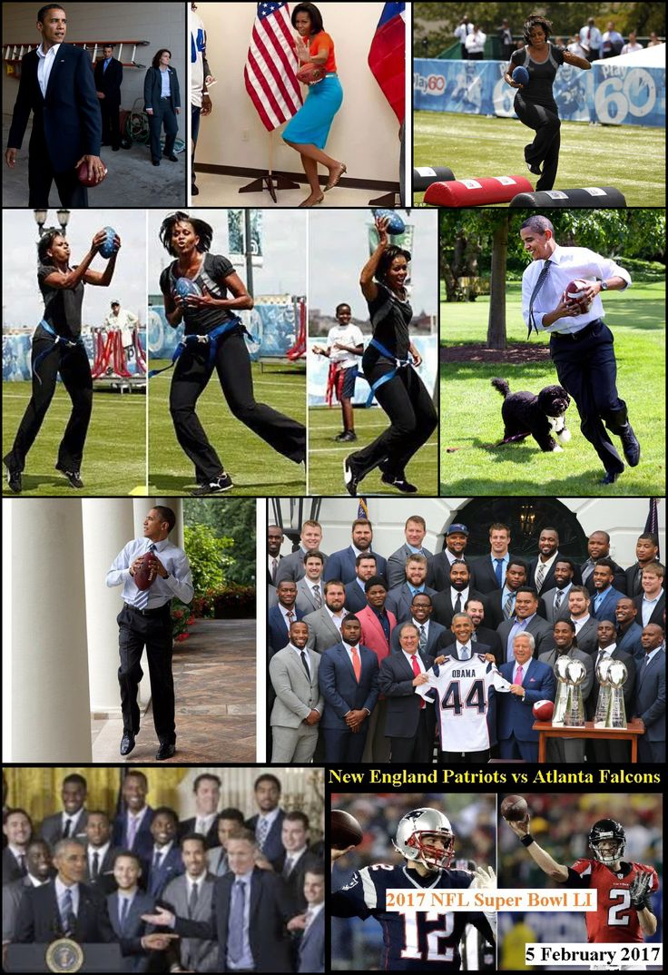 Who Do You Think Run Faster Michelle Or Barack? First Lady #MichelleObama & Prez #BarackObama Getting Ready #SuperBowl51 Game Sunday February 5, 2017 #Patriots Vs. #Falcons