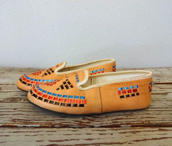 Vintage CHILDRENS Moccasins / 1960s Kids Shoes / by BluegrassBooty, $48.00