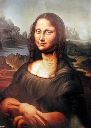 Октавио Окампо. Современное искусство. Мона Лиза. Современный мексиканский художник. Искусство Мексики. Картины иллюзии Октавио Окампо