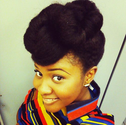 Surprising 1000 Images About 4C Natural Hair Styles On Pinterest Short Hairstyles For Black Women Fulllsitofus