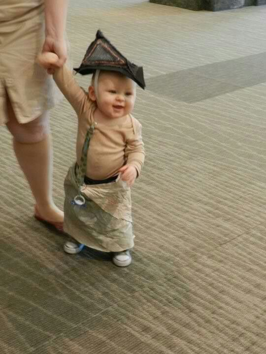 Silent Hill... the mini edition.... I would totally dress my baby up as P-head