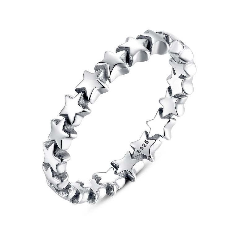 925 Sterling Silver Star Trail Stackable  Rings // Price: $8.95 & FREE Shipping Worldwide //     #shoes #heels #styles #outfit #purse #jewelry #shopping #glam