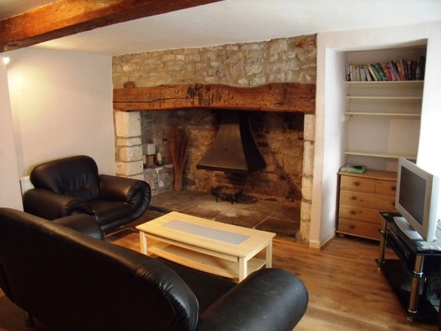 Fabulous inglenook fireplace in this 1700s three storey cottage
