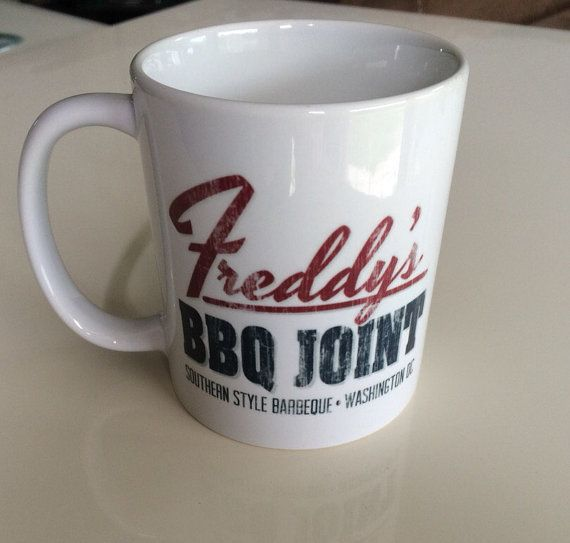 Freddy's BBQ Joint - House of Cards Inspired Mug By GlazedImage - TV Show