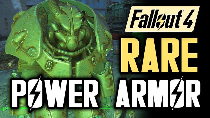 Fallout 4 Tips: RARE POWER ARMOR X-01! Location Guide (Gameplay Walkthro...