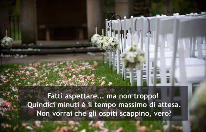 In attesa della sposa...