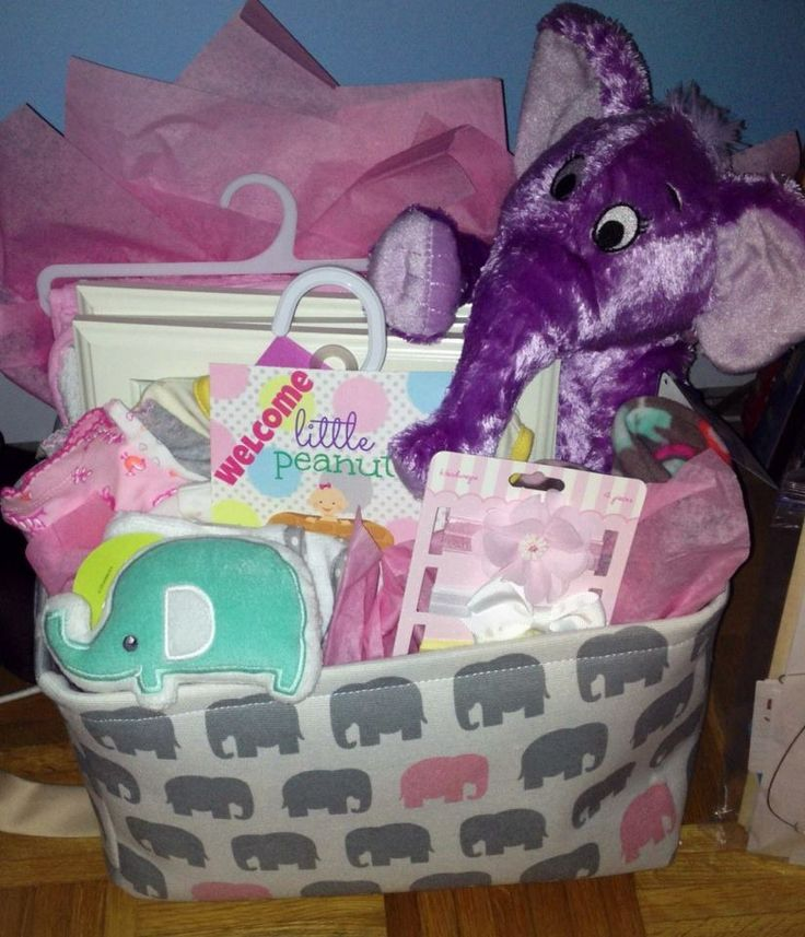 20 best elephant baby shower cookies images on pinterest baby elephant themed baby shower gift negle Gallery