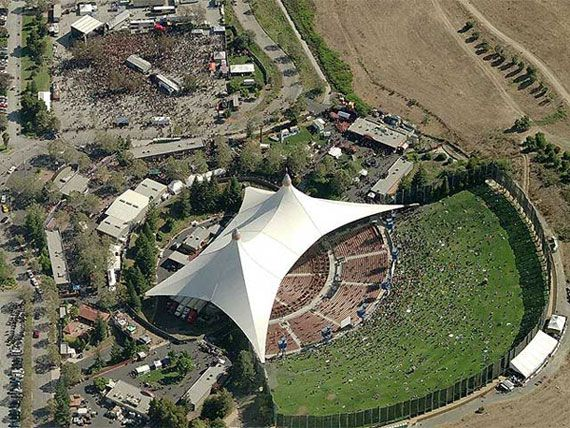 Shoreline Amphitheatre, Mountain View CA: where I saw my first Rush concert!!