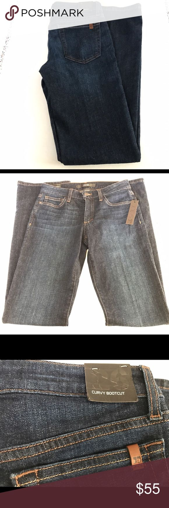 Joe Jeans Woman's Bootcut Jeans size 27 NWT Joe Jeans Woman's bootcut flared jeans new with tags. Dark wash.  Size 26  ❌trades❌ please don't ask. All reasonable offers will be considered. Joe's Jeans Jeans Boot Cut