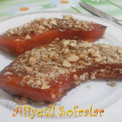 FIRINDA KABAK TATLISI, http://www.afiyetlisofralar.com/mutfaktan-lezzetler/yemektarifi/tatlilar/firinda-kabak-tatlisi