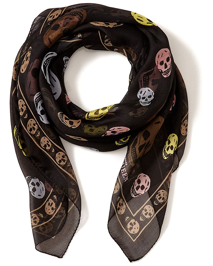 1000 ideas about mcqueen skull scarf on