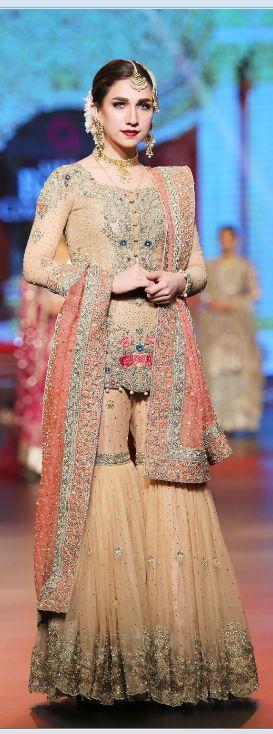 Shazia & Sher Bridal Dresses at QHBCW2016  #BridalDresses