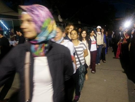 Anneler Gezi Parkı'nda buluştu