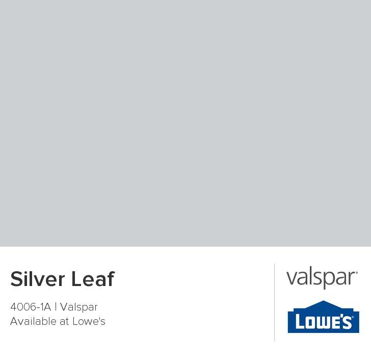 silver leaf from valspar for the home pinterest