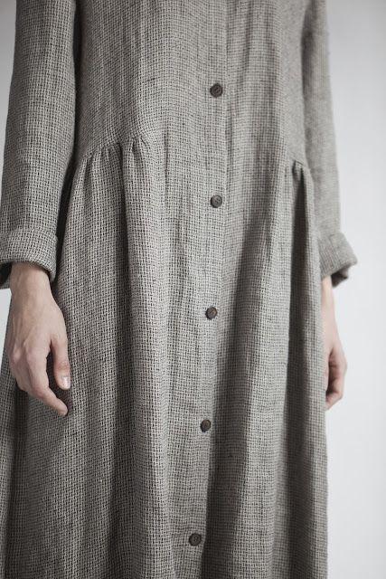 muku lovely detail klere robe chemise en coton. Black Bedroom Furniture Sets. Home Design Ideas