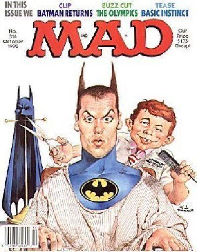 Batman Returns.  Mad Magazine