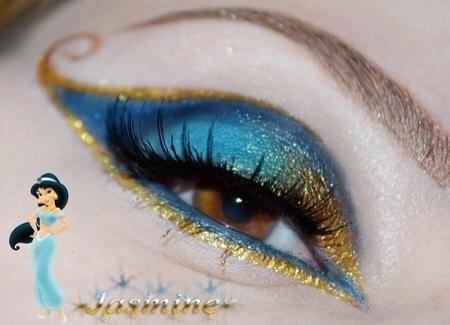 Maquillaje inspirado en las princesas de Disney!! @Ana G. Victoria Lagos