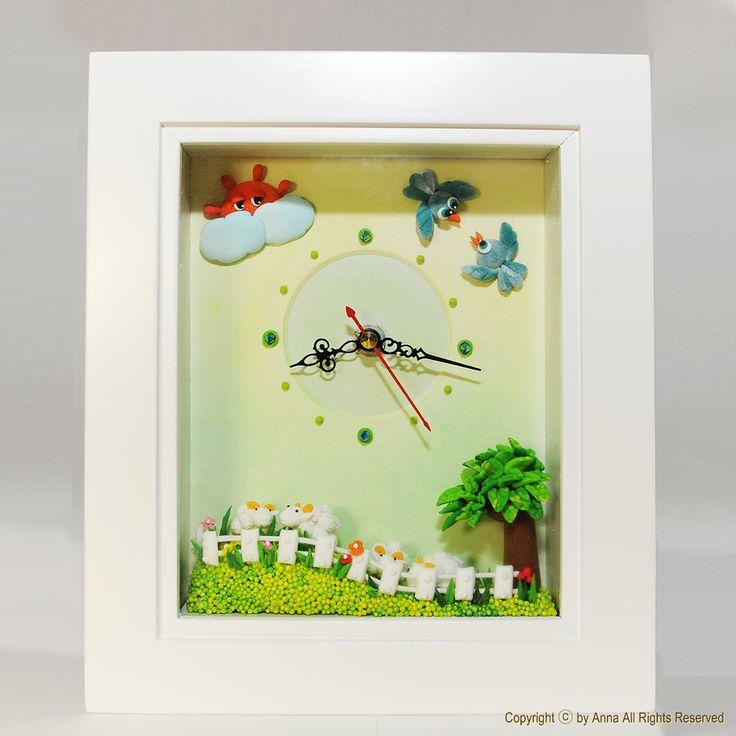 desk clock | by Anna Crafts