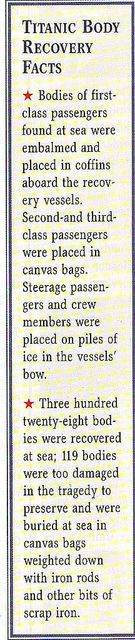 *TITANIC RECOVERY FACTS ~ What would the world be like if RMS Titanic hadn't sunk