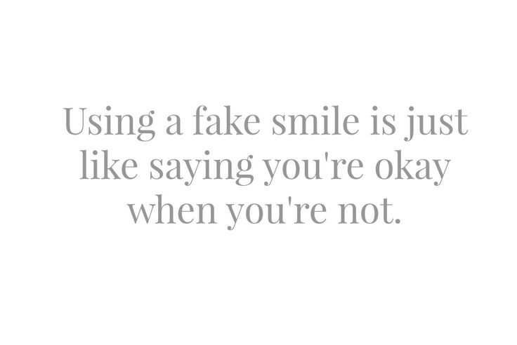 quotes about fake smiles - photo #15