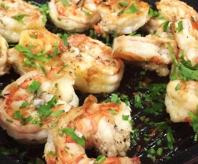 Camarões Grelhados para a Páscoa | Peixes e frutos do mar > Receitas com Camarão | Mais Você - Receitas Gshow