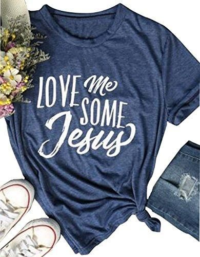 6a6d75452d Love me some Jesus Shirts for Christian teens and ladies. The religious  clothing offers Christians a great way to share their love and belief in  Christ and ...