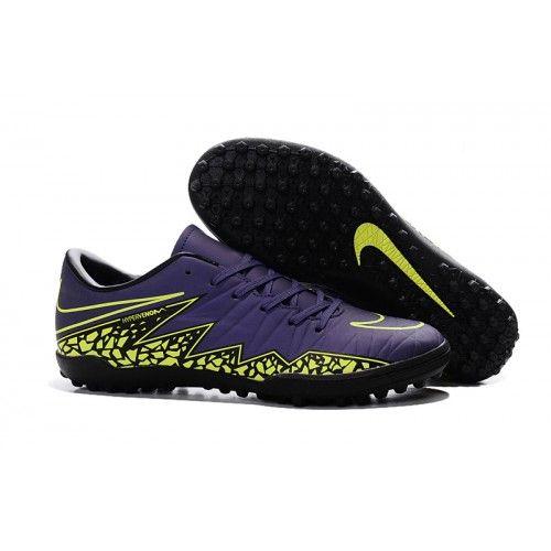 Acheter Nike Hypervenom Phelon II TF Chaussures de football Noir Violet