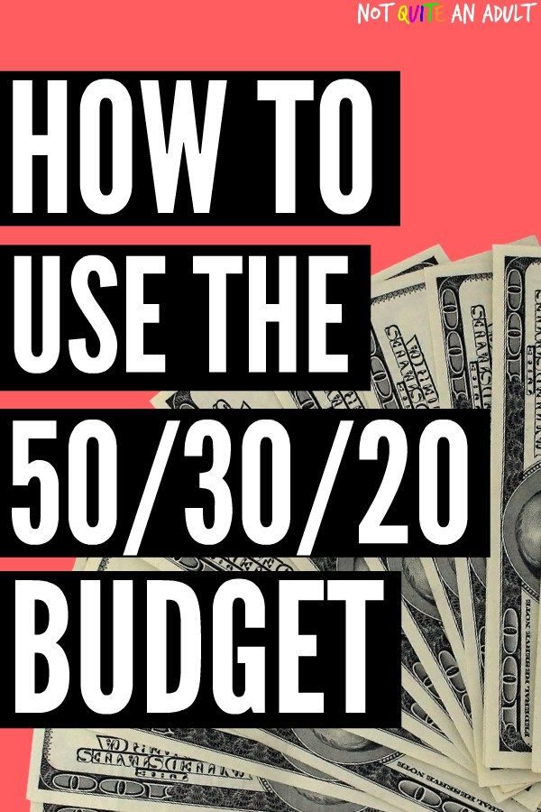 50/30/20 Budget Explained ~ Learn how to use it effectively Budget