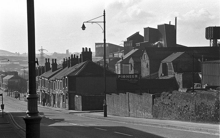 Hanley - Lichfield St towards Joiner's Sq c 1974   by Ken_Davis_Archive