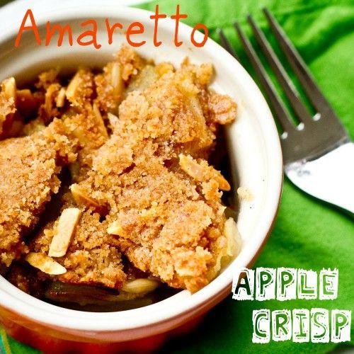 Amaretto Apple Crisp | Recipe