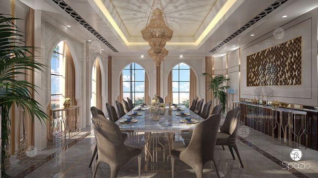 Elegant Dining Room Interior With Lux Decoration Get More
