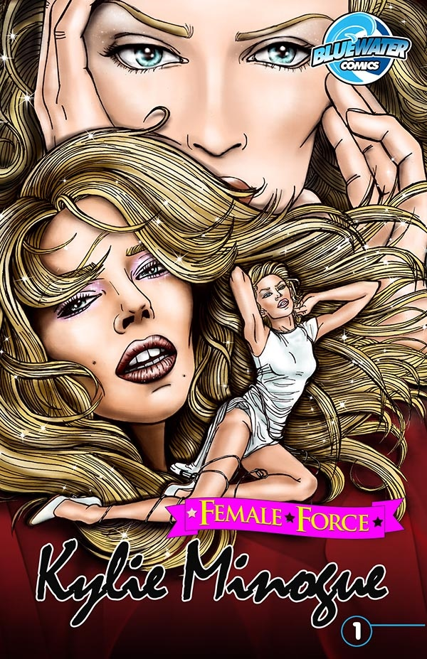 Kylie Minogue comic book cover coming out soon!  Cover A