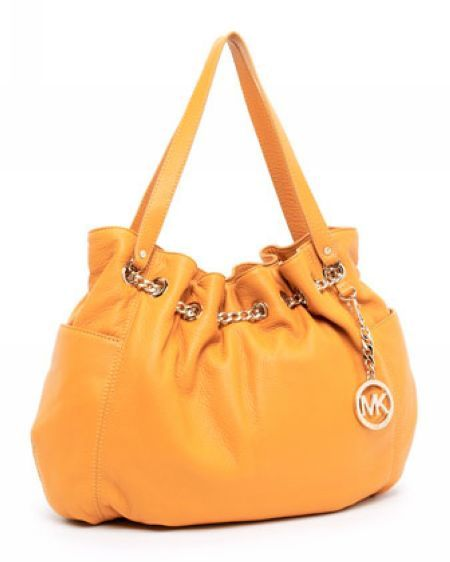 Michael Kors Outlet UK Jet Set Chain Ring Tote Marigold
